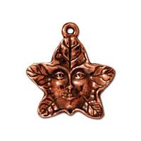 Tree Spirit Charm, Antiqued Copper Plate, 20 per Pack