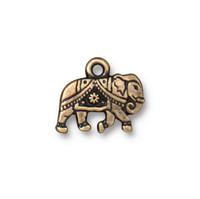 Gita Drop, Oxidized Brass Plate, 20 per Pack