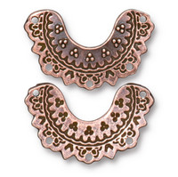 Marrakesh Link, Antiqued Copper Plate, 20 per Pack