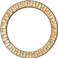 Radiant Ring 1 1/4 inch, Gold Plate, 10 per Pack