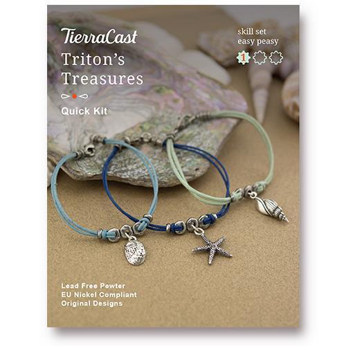 Triton's Treasures Bracelet Kit, Antiqued Silver Plate, 1 per Pack