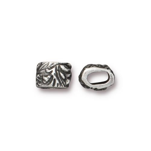 Jardin 4x2mm Barrel Bead, Antiqued Pewter, 20 per Pack