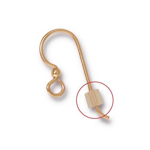Clear Ear Wire Clutch, 500 per Pack