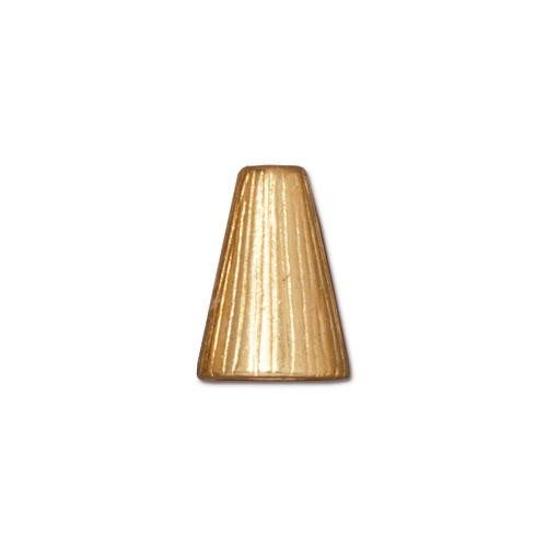 Tall Radiant Cone, Gold Plate, 20 per Pack