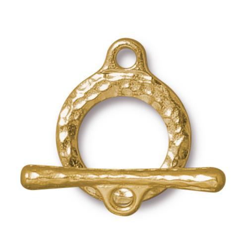 Craftsman Clasp Set, Gold Plate, 10 per Pack