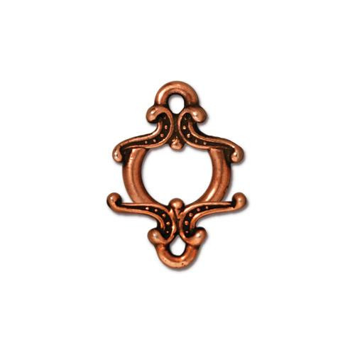 Keepsake Clasp Set, Antiqued Copper Plate, 10 per Pack