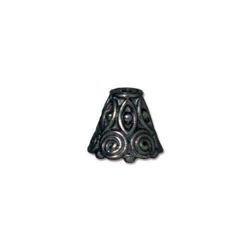 Spiral Cone, Black Plate, 20 per Pack