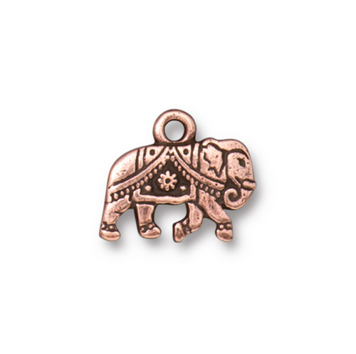 Gita Drop, Antiqued Copper Plate, 20 per Pack