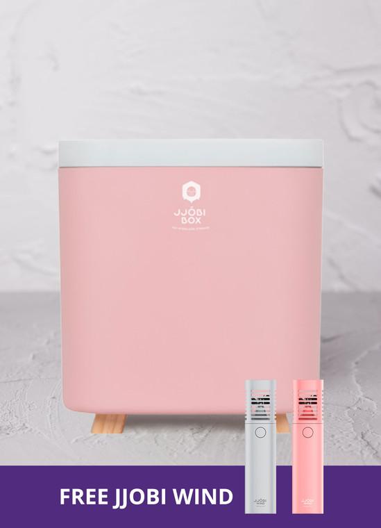 Toy Storage UV-LED Sterilizer Box: JJOBI BOX - Eco-friendly and Baby Safe (Pink)