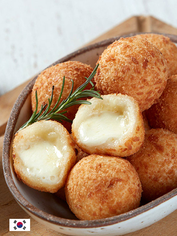 """""""Let's Cook Some Delicious Pulmuone Cheese Balls."""" - by @Jaeyun"""