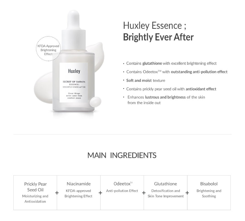 Huxley Essence ; Brightly Ever After 02