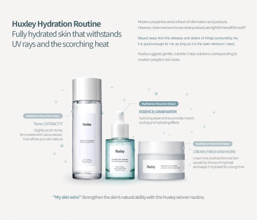 Huxley Essence ; Grab Water 10