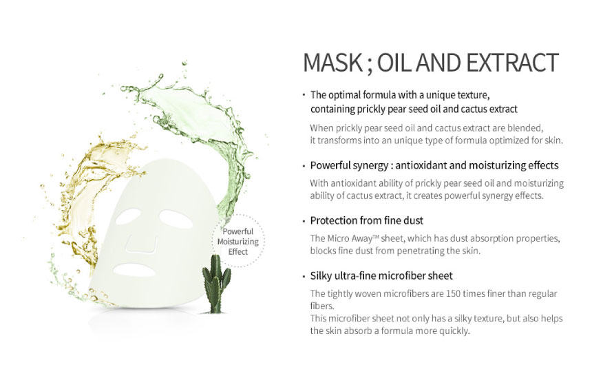 Huxley Mask ; Oil and Extract 02