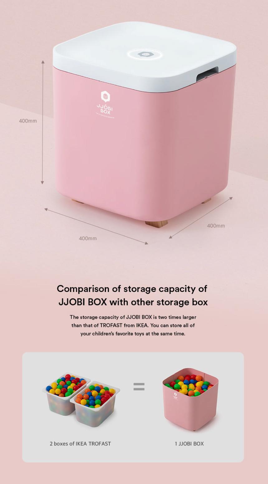 JJOBI Box - Specs - Grey