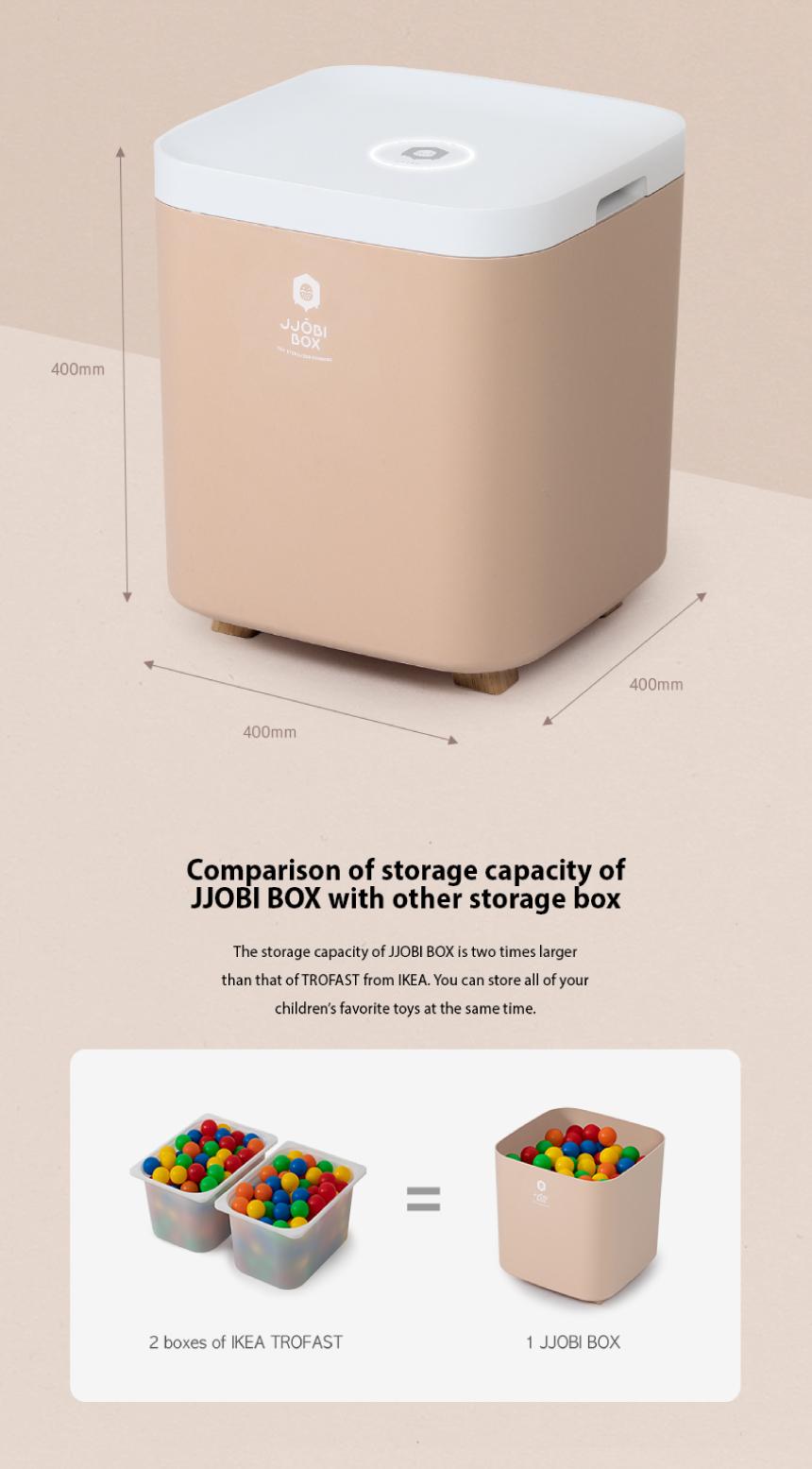 JJOBI BOX Toy Storage Sterilizer 07