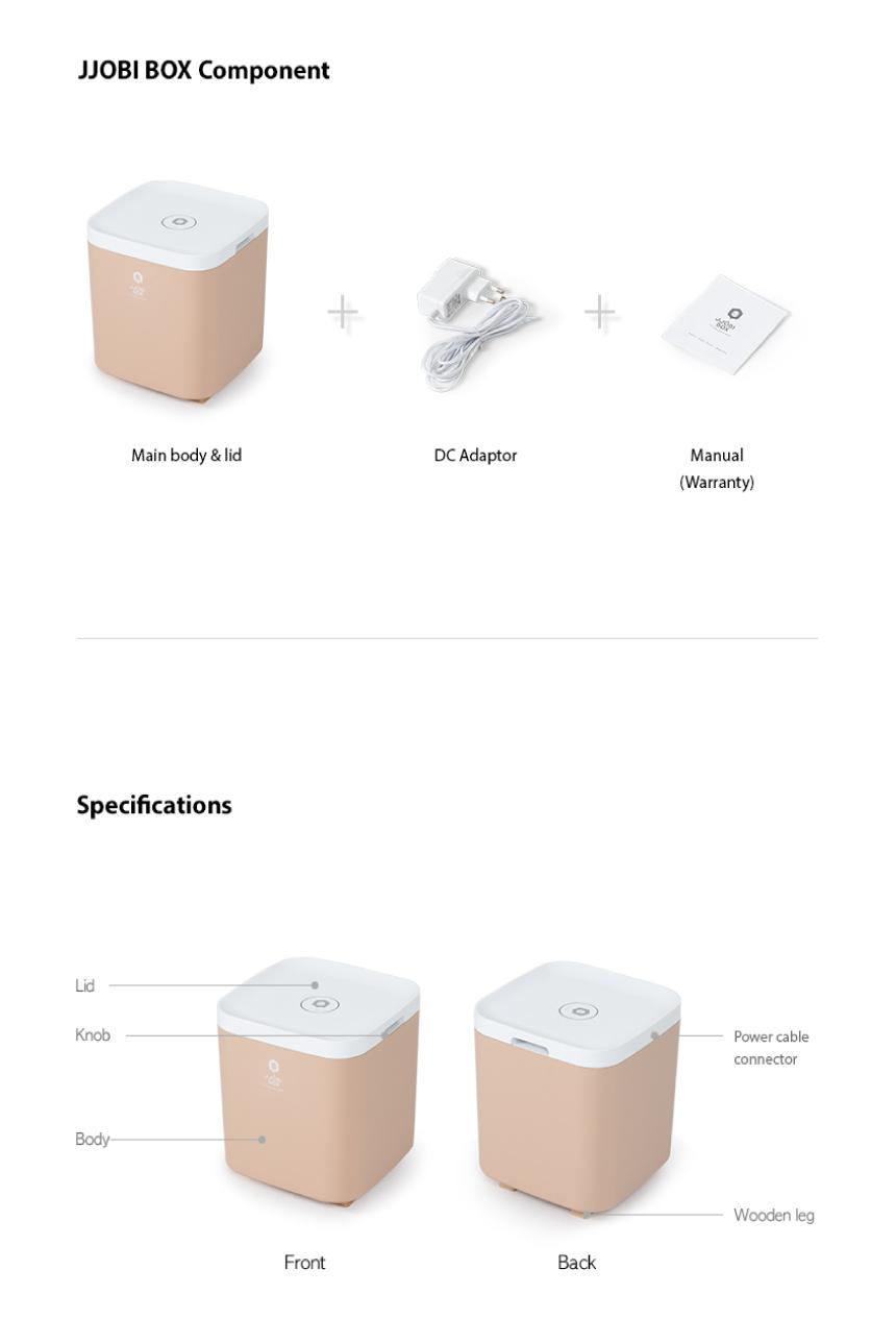 JJOBI BOX Toy Storage Sterilizer 09