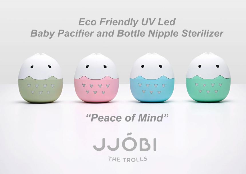 JJOBI Trolls Pacifier Sterilizer 01