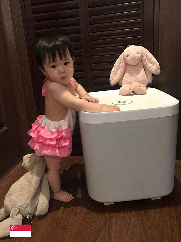 """Keep baby toys germ-free with JJOBI Box.""- by @raisingbebewei"