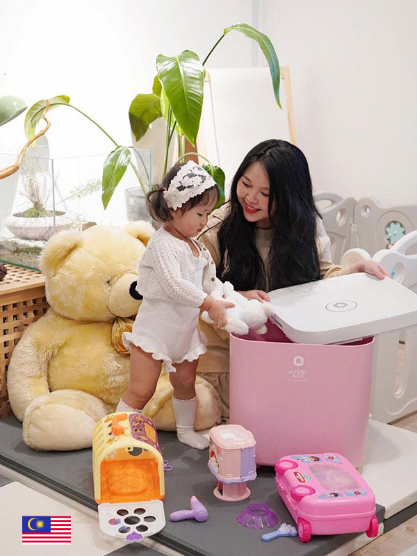 Convenient and effective way to disinfect toys - by @sandaraliaw