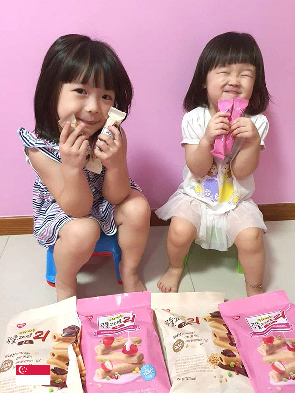 Snack time is great with Kemy Yummy Cracker Rolls - by @shandylim