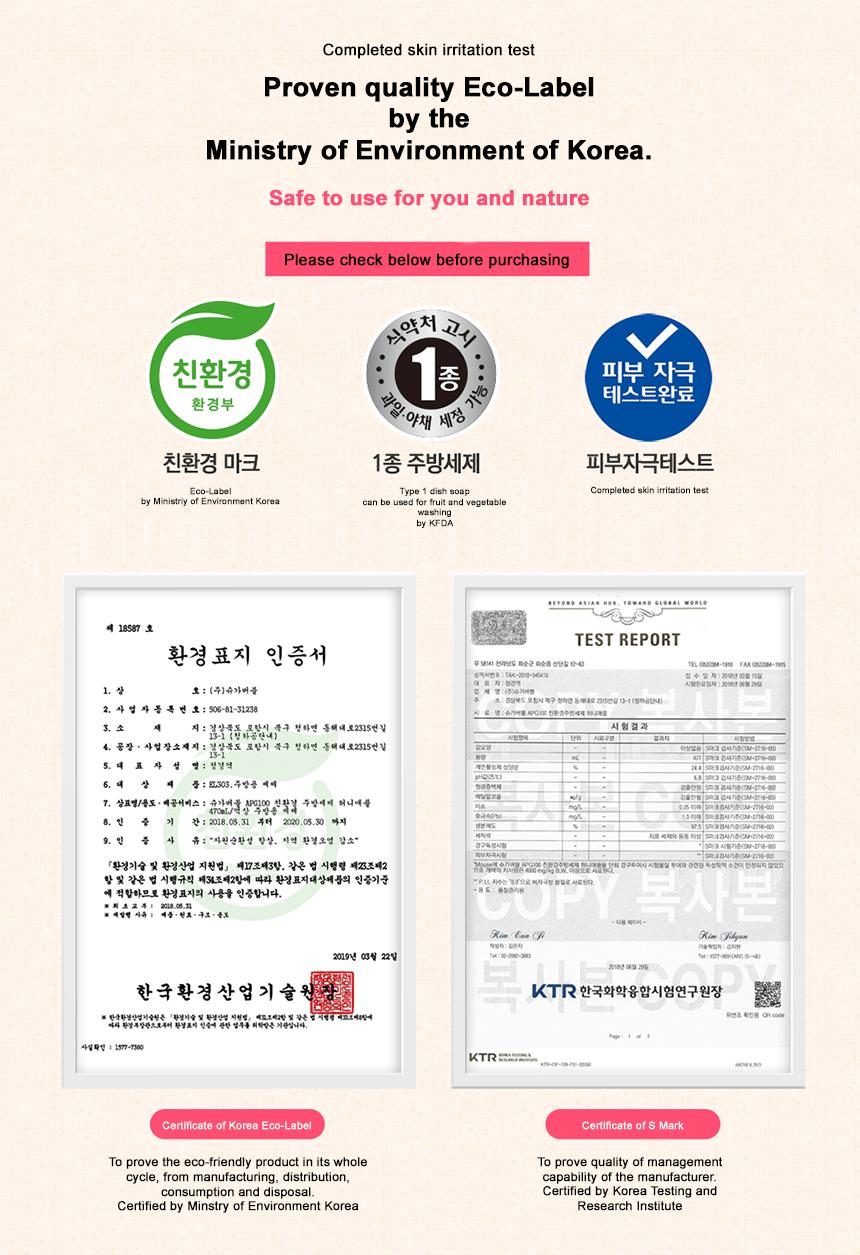 Sugar Bubble APG100 Certification