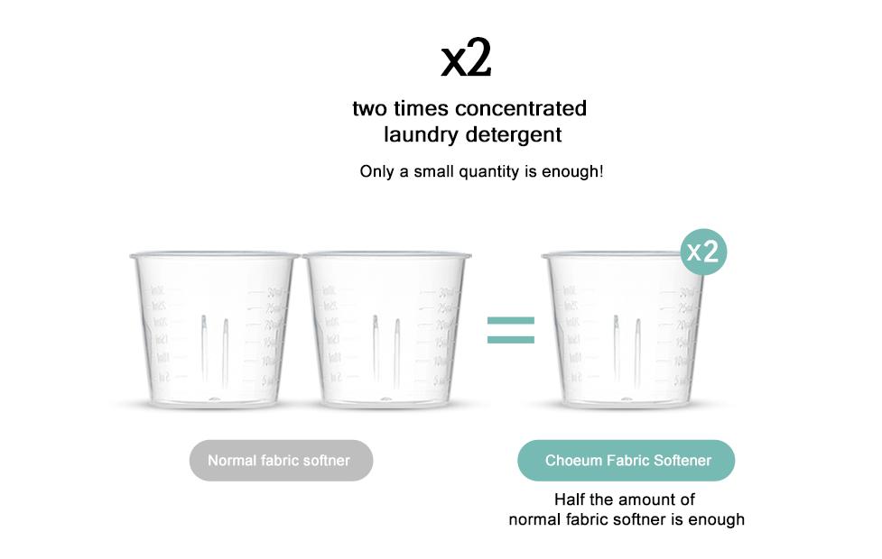 Sugar Bubble Choeum; Baby Fabric Softener Economical