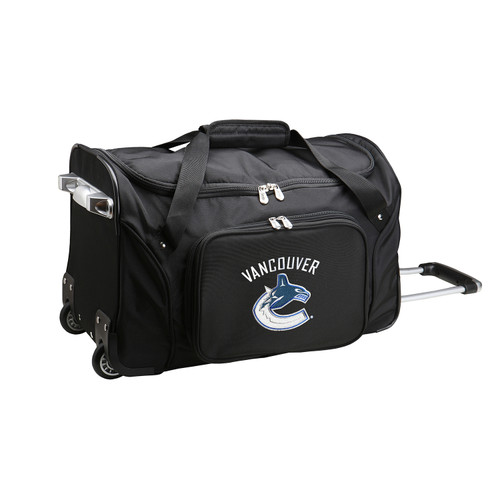 NHL Vancouver Canucks Luggage   NHL Vancouver Canucks Wheeled Carry On Luggage