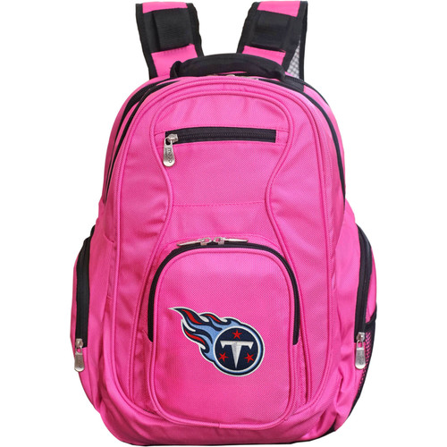 Titans Backpack | Tennessee Titans Laptop Backpack- Pink