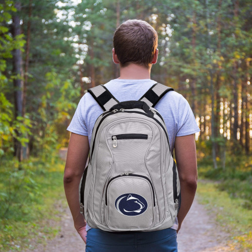 Penn State Nittany Lions Laptop Backpack Gray