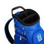 PGA Tour Golf Bag Blue with Travel Cover and Shark Wheels