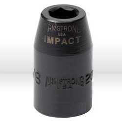 "3/8"" 6pt Impact Socket 1/2"" Drive"