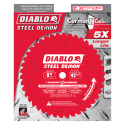 "carbide tipped circular saw blade,8"" circular blade for metal,5/8"" Arbor,metal blade,mild steel blade,steel blade,Stainless cutting,cermet"