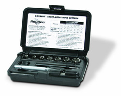 Hougen 11075 RotaCut Fractional Cutter Kit with Case