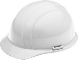 4-point White Hard Hat