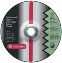 "Metabo 3"" x 1/4"" x 3/8"" Type 27 Grinding Wheel"