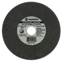 "Metabo 3"" x 1/8"" x 3/8"" Type 1 Cutting Wheel"