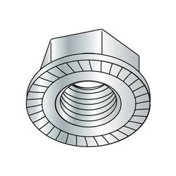 "3/8""-16 Whiz-lock Nut Zinc Plated (Box of 100)"