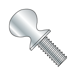 "3/8 - 16 x 3/4"" 'S' Thumb Screw Zinc Plated (Box of 50)"