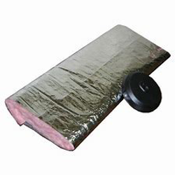 "Atco 16"" UPC #010 Insulated UL181 Sleeve Wrap (50' per Box)"