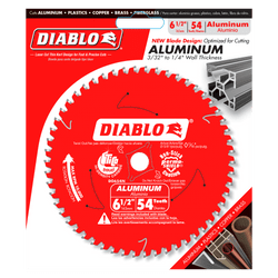 "carbide tipped circular saw blade,6-1/2"" circular blade for aluminum,5/8"" Arbor with Diamond Knockout,aluminum blade,medium aluminum blade"