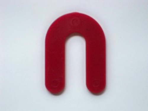 "1/8"" Red Plastic Shims - Pack of 100"