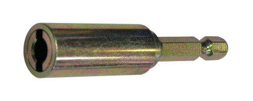"Hanger Bolt Driver Bit, 1/4"" Hex Shank, for 1/4"" Screw Size"