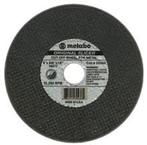 "Metabo 5"" x 3/32"" x 7/8"" Type 1 Cutting Wheel"