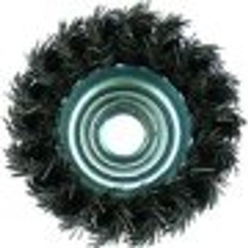 "Metabo 2 3/4"" x 5/8""-11 Stainless Steel Knot Brush"