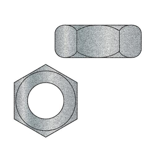 1-8 Hot Dip Galvanized Hex Nut (Box of 10)