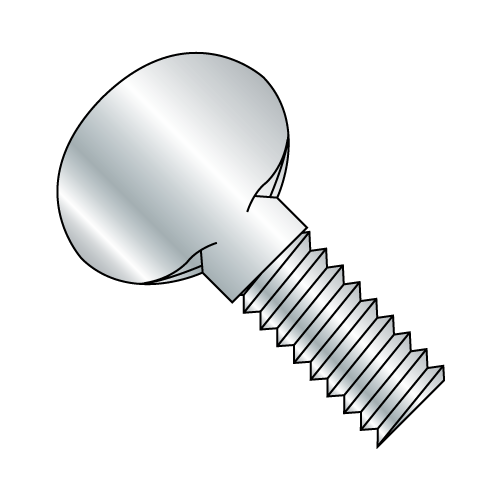 "10-32 x 1/2"" 'P' Thumb Screw Zinc Plated (Box of 50)"