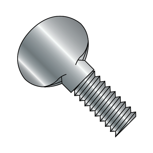 "6-32 x 1"" 'P' Thumb Screw Plain (Box of 50)"