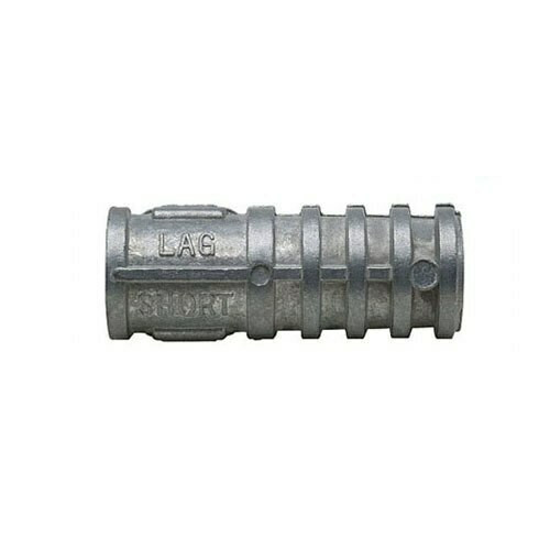 Lag Shield, short lag shield, shield, concrete anchor, block anchor, brick  anchor, masonry anchor