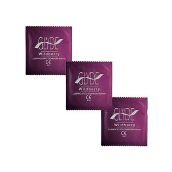 Glyde Purple Wildberry Condoms