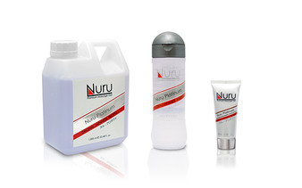 Nuru Gel Premium Massage Gel (Platinum)